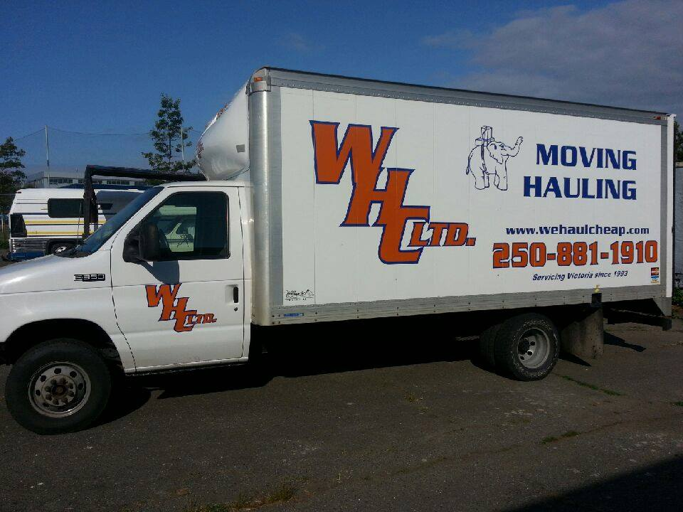we haul cheap ltd moving company victoria bc